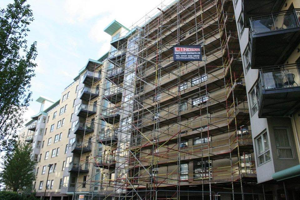 Edinburgh Scaffolders Lindsay Scaffolding Contracts Ltd